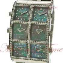 IceLink Ambassador Six TimeZone, Mother of Pearl Dial, Diamond...
