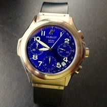 Hublot MDM Blue Hochfeiner Luxus Herren Chronograph 1810.1