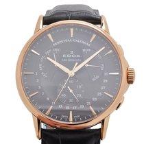 依度 (Edox) Les Bémonts Perpetual Calendar Watch 01602 37R GIR