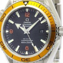 オメガ (Omega) Polished Omega Seamaster Planet Ocean Orange...