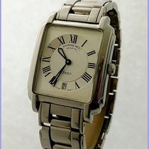 Raymond Weil Geneve Saxo 9110 Date 30x33mm Stainless Steel...