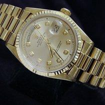 Rolex 18k Gold Day-date President Champagne Diamond 1803
