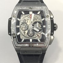 Hublot SPIRIT OF BANG MIT BRILLANT BAGUETTE  LÜNETTE  FULL SET...