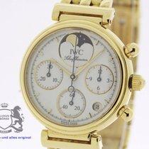 IWC Da Vinci Chronograph solid 18K Gold SERVICED by IWC Warranty