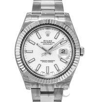 ロレックス (Rolex) Datejust II White Dial - 116334