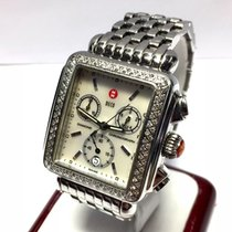 Michele Deco Mens/unisex Ss & Ceramic Watch Factory...