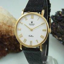 Rolex Cellini 5112 Handaufzug 18k / 750 Gold Dornschließe...