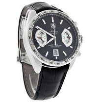 TAG Heuer Grand Carrera Mens Swiss Auto Chrono Watch CAV511A.F...