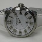 Tendence Swiss Men's Leather White/White Watch TE450003