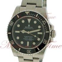 Rolex Submariner No-Date, Black Dial, Black Ceramic Bezel -...