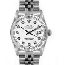 Rolex Women's Datejust Midsize Stainless Steel  Custom...