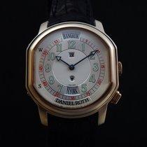 Daniel Roth Metropolitan Dual Time 18k Pink Gold