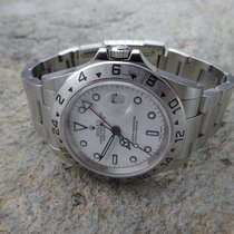 ロレックス (Rolex) Explorer II Weiss von 2003 mit B&P