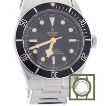 Τούντορ (Tudor) Heritage Black Bay black ceramic Bezel full steel