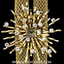Vacheron Constantin 18k Y/G Decorative Diamond Bezel Ladies...