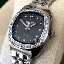 Eterna Sonic Electronic White Gold Diamonds 18 krt (38 mm)
