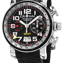 Graham Silverstone Luffield Night Racer Chronograph GMT...
