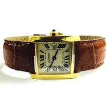 Cartier Tank Francaise Medium size 18 k yellow gold