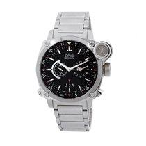 Oris Men's 690 7615 4154-SET MB BC4 Flight Timer Watch