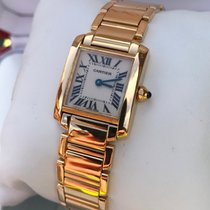 Cartier Tank Francaise Lady Yellow Gold 18 krt (Full Set)