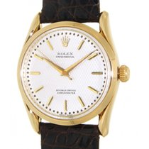 Rolex Oyster Perpetual 6290 Yellow Gold, Leather, 35mm