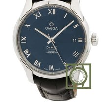 Omega De Ville Co-Axial 41mm Blue Dial NEW
