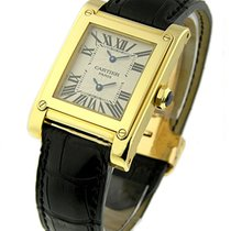 Cartier W1534251 Tank a Vis - Yellow Gold - 2-Time Zone Watch...