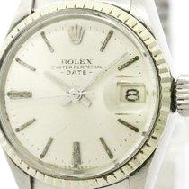 ロレックス (Rolex) Vintage Rolex Oyster Perpetual Date 6517 White...