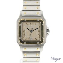 Cartier Santos Galbee GM Gold/Steel