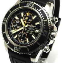 Breitling Superocean Ii Chronograph Ref A13341 A8/ba82 Yellow...