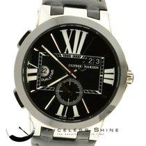 Ulysse Nardin Executive Dual Time 43mm Black Ceramic Bezel...