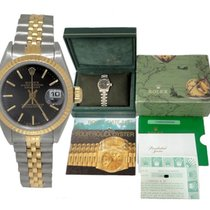Rolex Ladies Rolex Oyster Perpetual Datejust 18k Stainless...