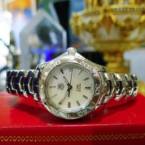 TAG Heuer Link Mother Of Pearl Dial Ref: Wj1313 Stainless...