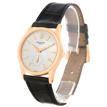 Patek Philippe Calatrava 18k Rose Gold Vintage Watch 3796