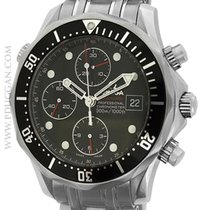 Omega stainless steel Seamaster Chronograph