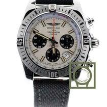 Breitling Chronomat 44 Airborne Chronograph Silver Textile...