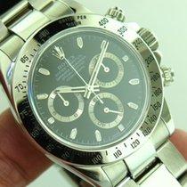 Rolex Daytona 116520 Stainless Steel Black Dial Men's...