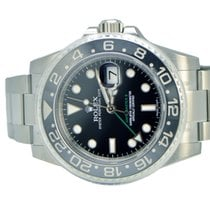 Rolex GMT Master II Ceramic Bezel Stainless NEW 116710LN