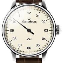 Meistersinger N 01 43mm Ivory Dial - AM 3303