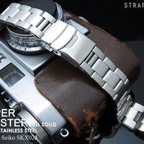 Seiko Super Oyster Watch Bracelet for SEIKO SKX023, 03-Clasp