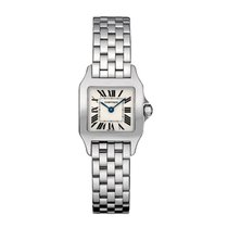 Cartier Santos Dumont Quartz Ladies Watch Ref W25064Z5