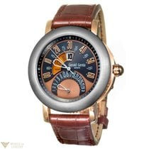 Gérald Genta Arena Bi-Retro 18K Rose Gold and Titanium...