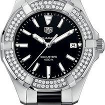 TAG Heuer AQUARACER Steel Keramik Black Diamonds WAY131E BA0913