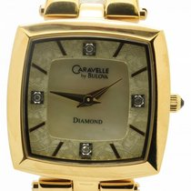 Caravelle by Bulova Women's 44p001 Diamond Accented Mother...