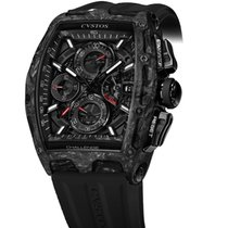 Cvstos Challenge Chrono 2 Black Forged Carbon Honolulu Black Dial