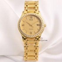 Piaget Polo 24005 M 501 D Diamond Bezel 18K Yellow Gold