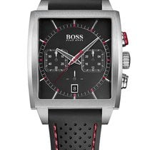 Hugo Boss 1513356 HB-1005 4-eckiger Chronograph 39mm 5ATM