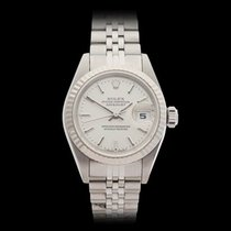 Rolex Datejust Stainless steel & 18k white gold Ladies 69174