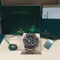 Rolex Unworn Daytona 2015 5 Year Warranty Black Dial