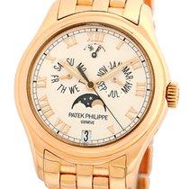 Patek Philippe Gent's 18K Rose Gold  # 5036 Annual Calendar.